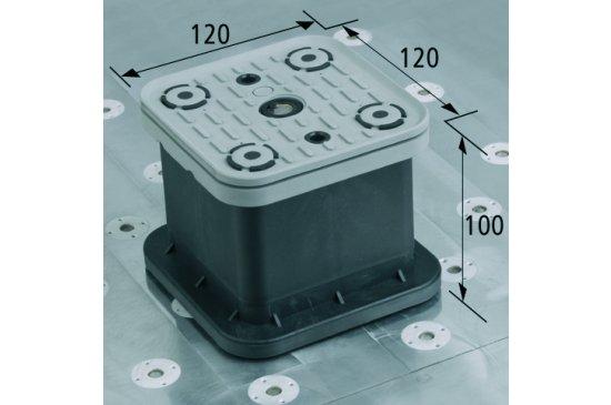 Vakuový blok VCBL-T 120x120 H = 100 mm