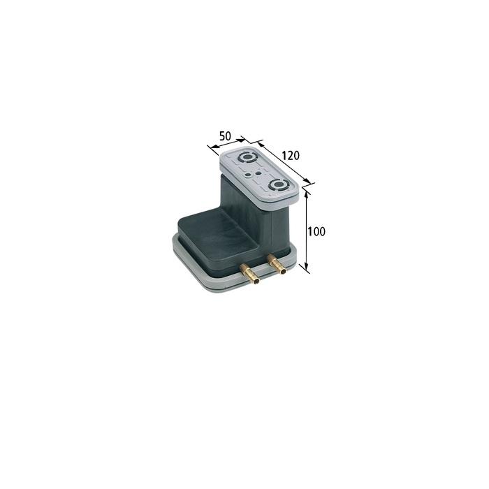 Vakuový blok VCBL-G 120x50 H = 100 mm pro hladké stoly