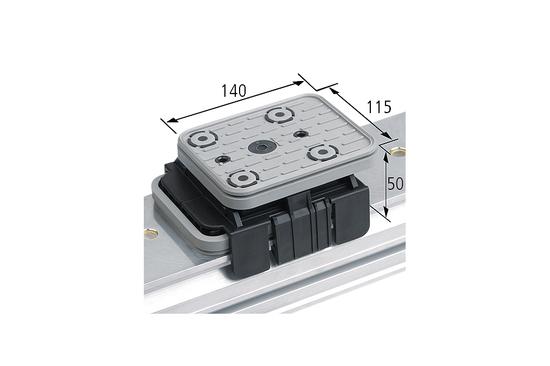 Vakuový blok VCBL-K1 140x115 H=50 mm