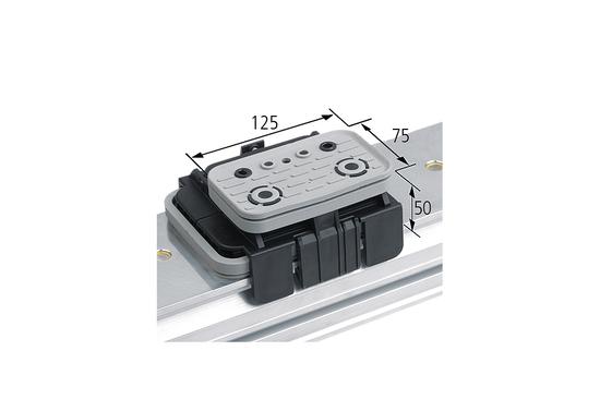 Vakuový blok VCBL-K1 125x75 H=50 mm L (podélný)