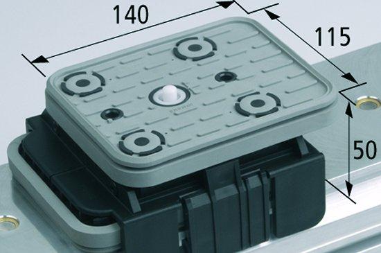 Vakuový blok VCBL-K1 TV 140x115 H=50 mm s mezním senzorem