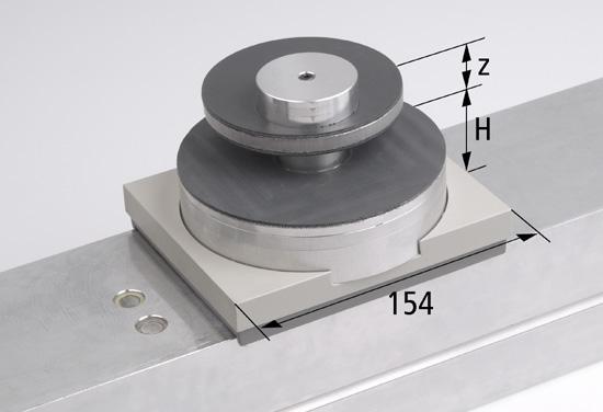 Mechanická svorka 154x128 H=50 mm VCMC-K2 upínací rozsah 12-80