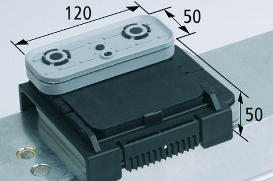 Vakuový blokVCBL-K2 120x50 H=50 mm L (podélný)