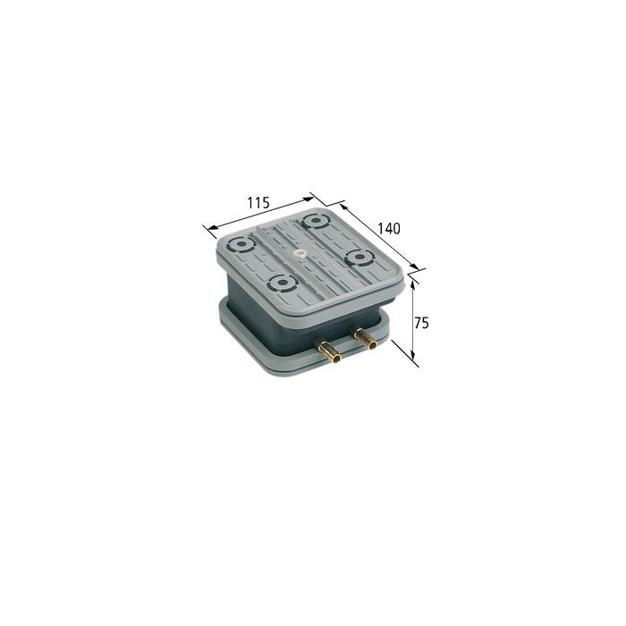 Vakuový blok VCBLS-G 140x115 H = 75 mm pro šablony