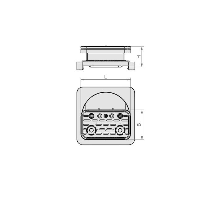 Vakuový blok VCBL-S  120x50