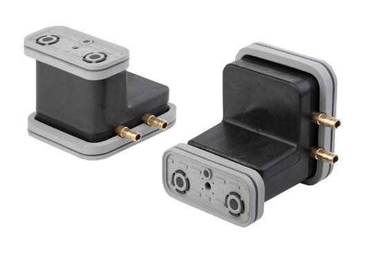 Vakuový blok VCBL-G 120x50 H = 100 mm pro hladké stoly, opačné výstupy
