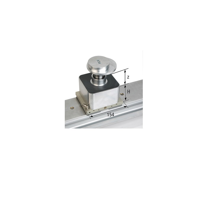 Mechanická svorka VCBL-K1 154x128x85 upínací rozsah 25-100