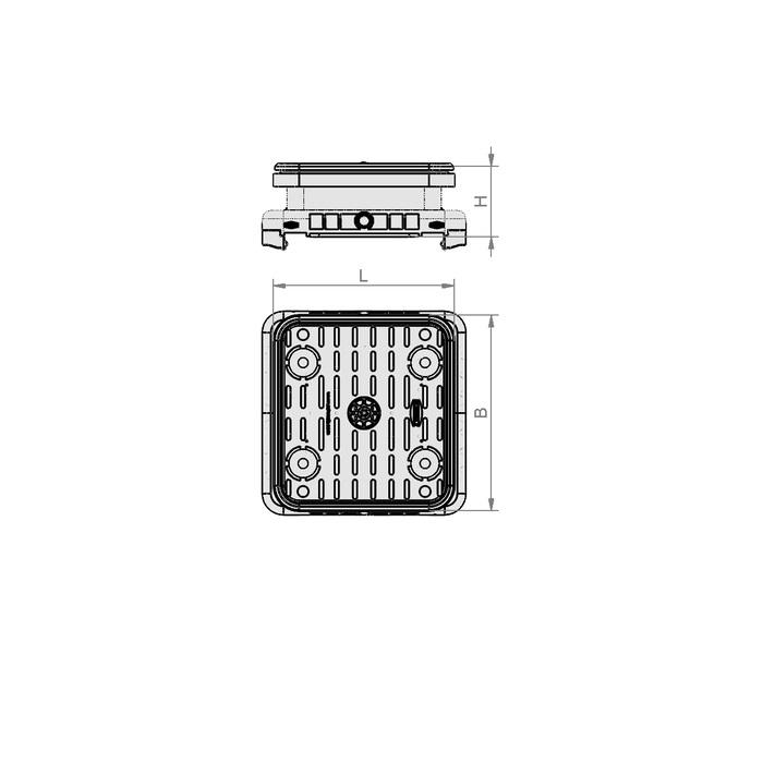 Vakuový blok VCBL-S  140x130