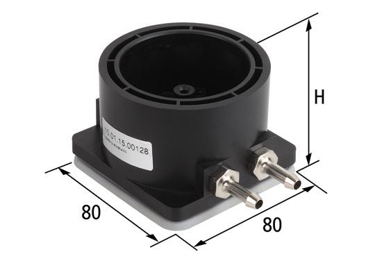 Základna Mono-Base-G 80x80xH = 55 mm pro volné upevňovací prvky